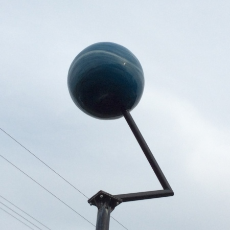 Neptune of the Maine Solar System Model
