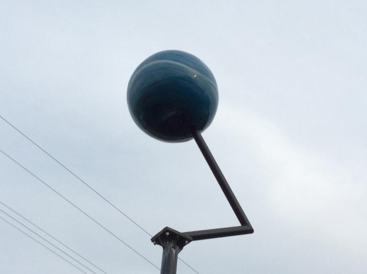 Neptune of the Maine Solar System Model