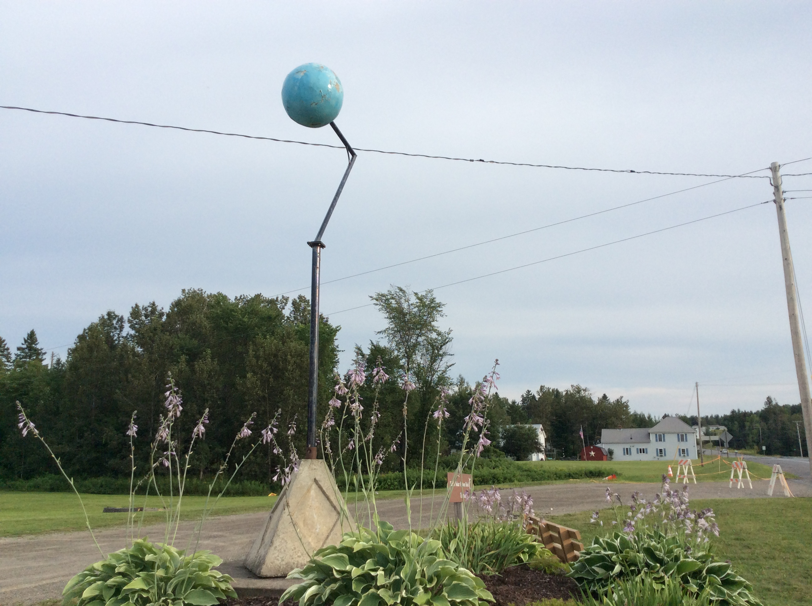 Uranus of the Maine Solar System Model